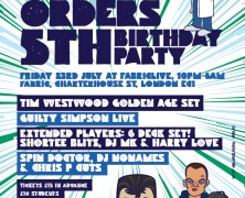 The Doctors Orders 5th Birthday Mix
