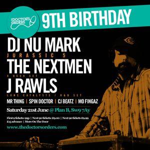 9th Birthday Mix