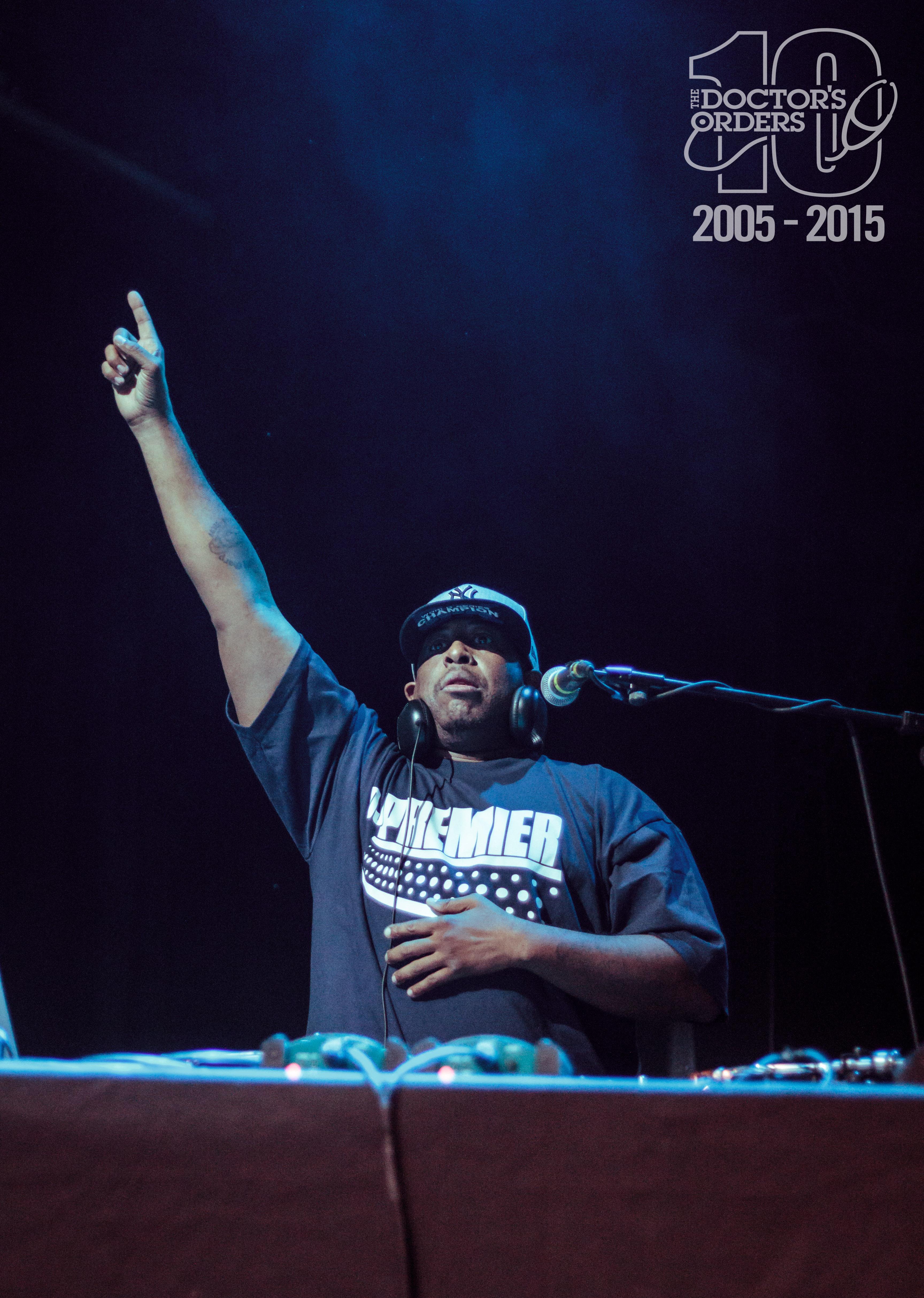 TDO10 – DJ Premier Live Photos