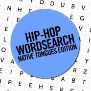 Hip-Hop Wordsearch